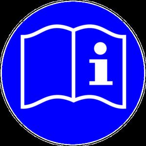 Piktogram instrukcja obsługi